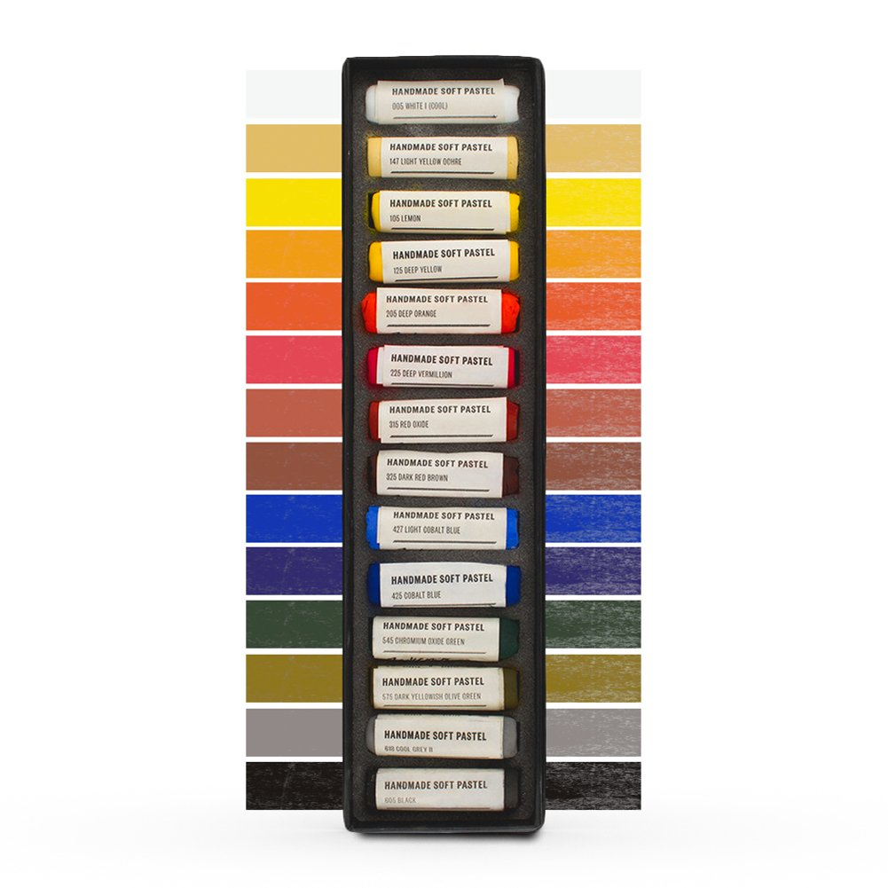 Jacksons : Handmade Soft Pastel : 14 Colours : Basic Starter Set Jackson's