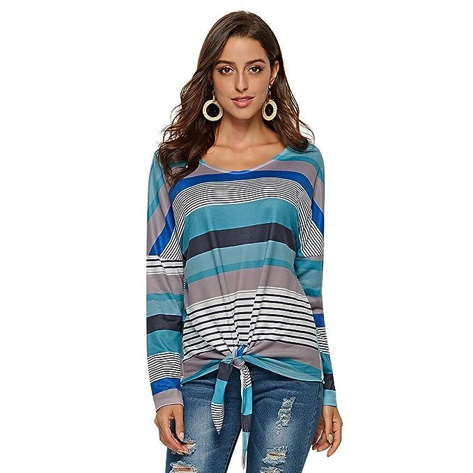 Cuello Barco Mujer Flojos Sueter Punto Blusa Manga Murcielago Tallas Grandes Camiseta Asimétrica Moda Pullover Sweater