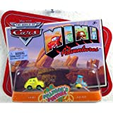 Disney Pixar Cars Mini Adventures Fillmore's Festival Luigi & Guido Car Set