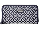 Tommy Hilfiger Women's Core Wallets Zip Around Signature Navy/White Wallets