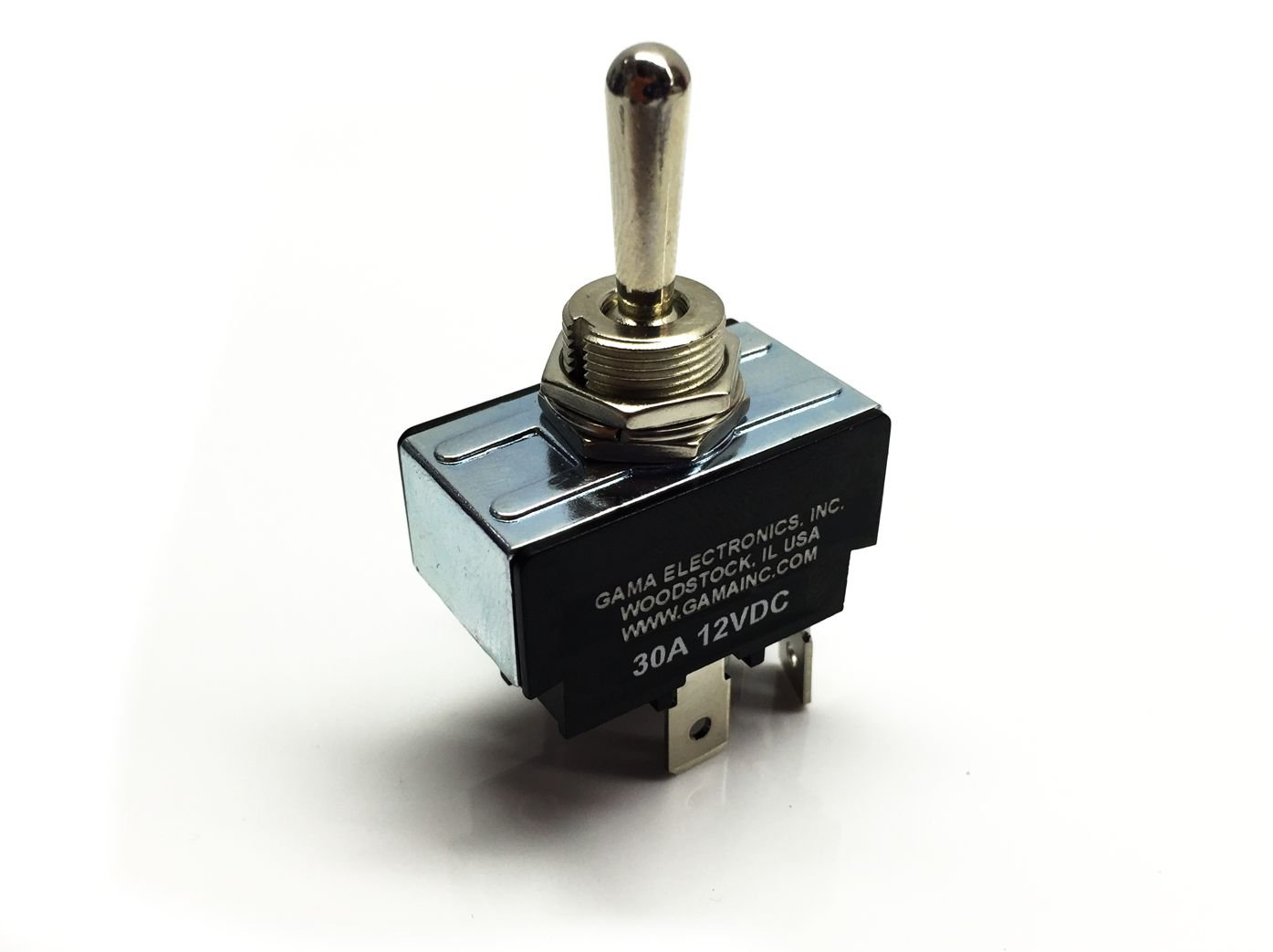 Gama Electronics 30 Amp Toggle Switch 3 Position Positions Of The And Battery Were Swapped In Circuit Polarity Reversing Dc Motor Control Momentary Automotive