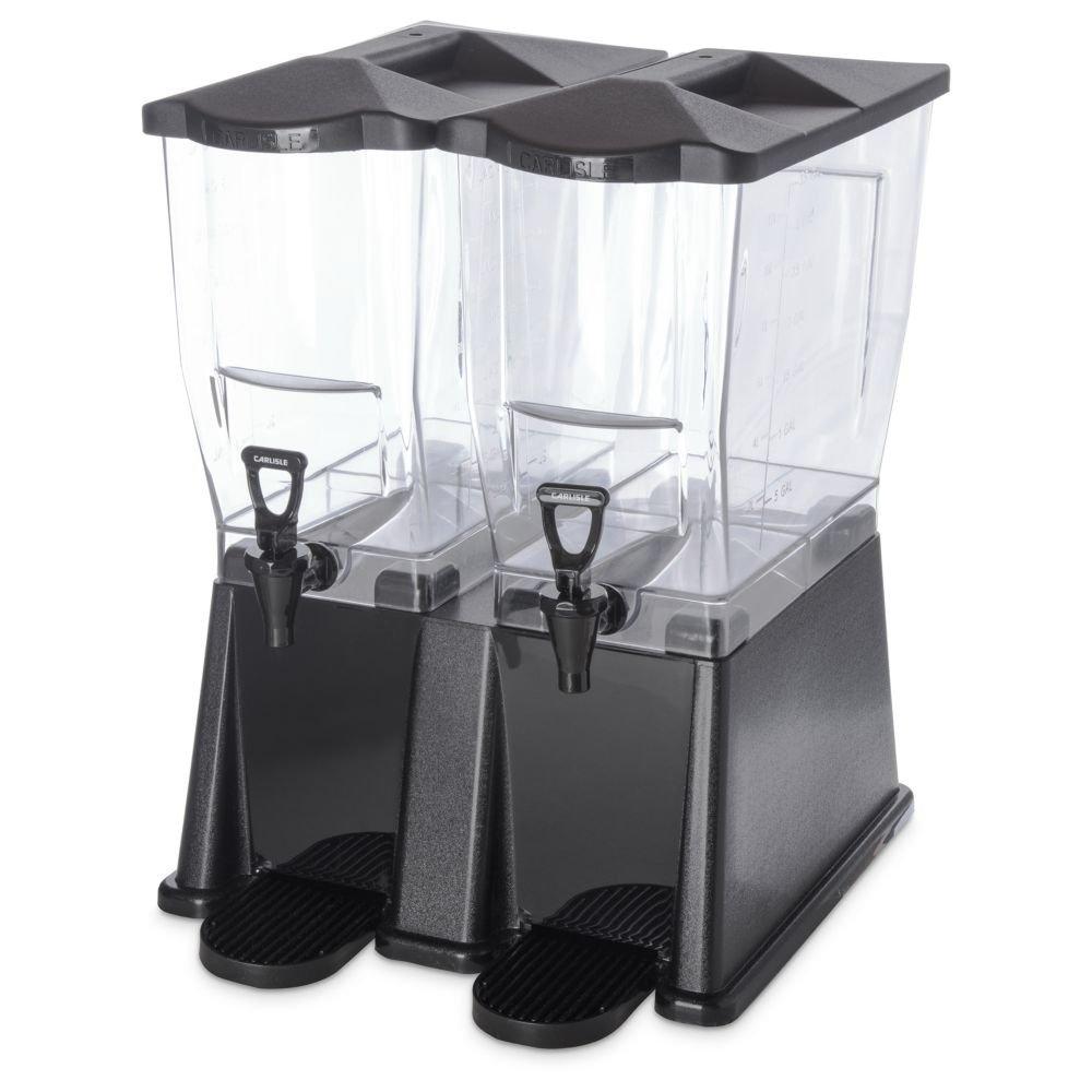 Carlisle 1085103PC TrimLine 6 Gallon Double Base Beverage Dispenser
