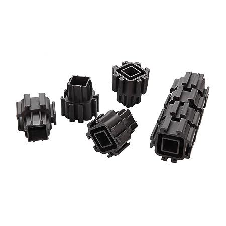 USB Caja de jardín), plástico, Connecting Fastener, 8 unidades ...