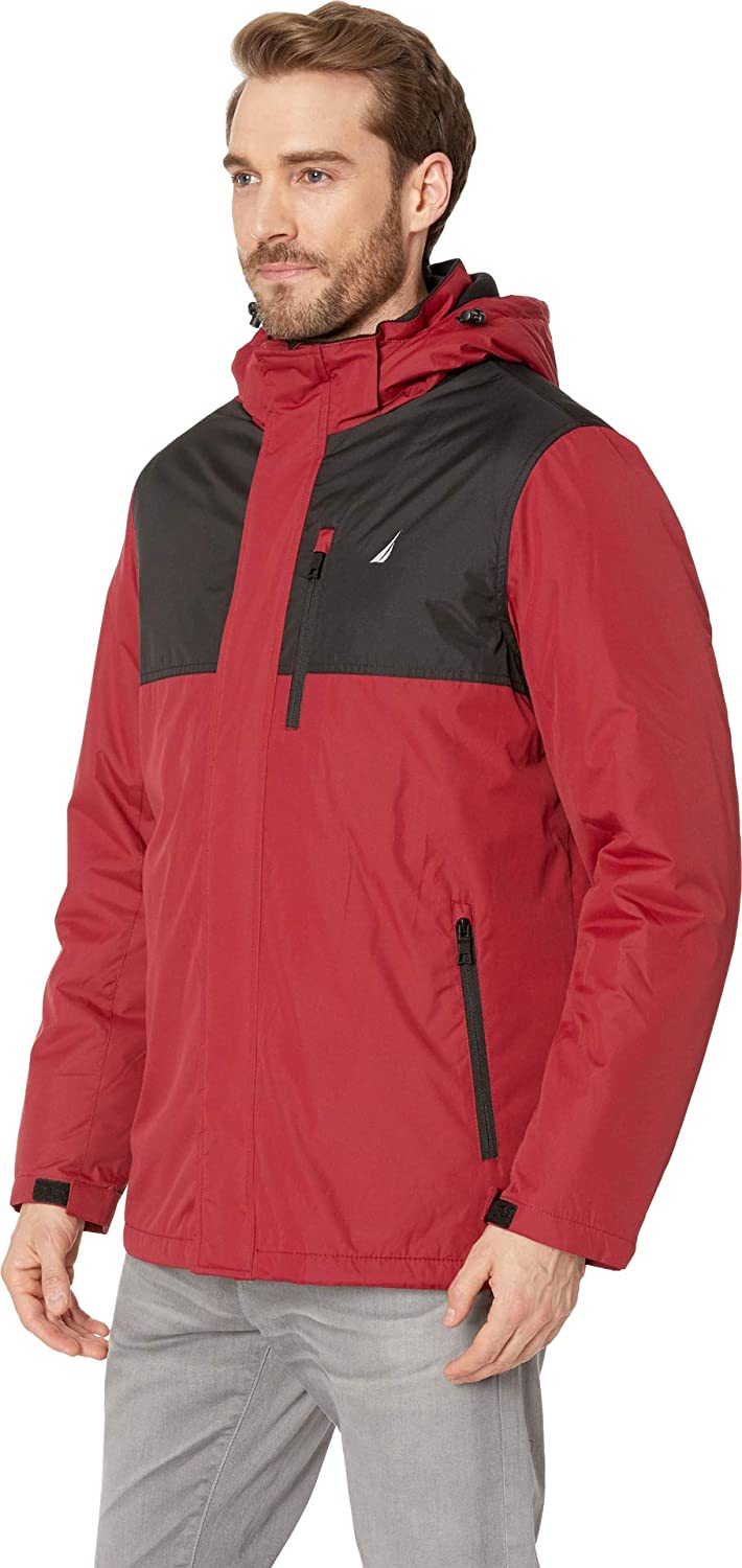 Nautica Mens Systems 3-in-1 Fleece-Lined Jacket