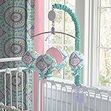 Carousel Designs Aqua Haute Baby Mobile