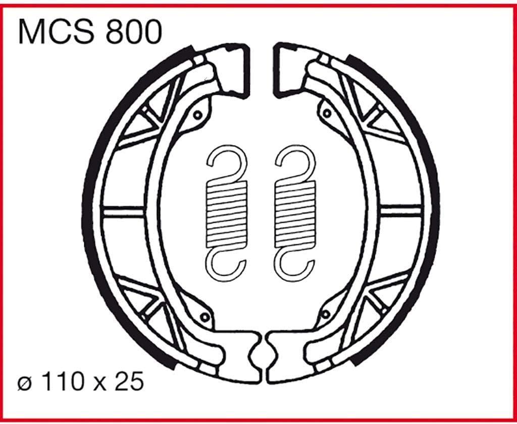 Bremsbacken TRW Speedfight 3 50 F1A AC 2 Takt 08-13 hinten