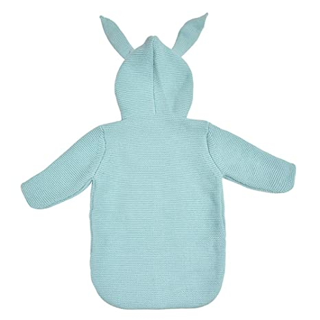 YeahiBaby - Saco de Dormir para bebé, diseño de Oreja de Conejo, Manta de