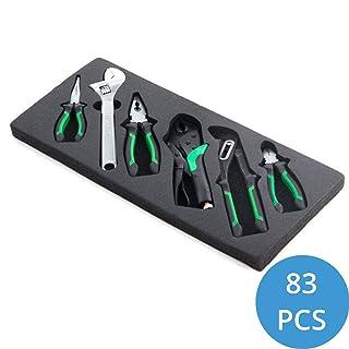 Tapones de módulo de herramienta Ragnor 83 piezas verde