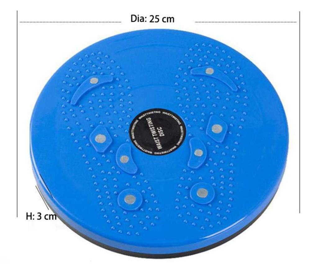 WonLon Twisting Waist Disc Bodytwister,Aerobic Exercise Equipment Abdomen Machine Balance Board with Reflexology Magnet Dots for Waist Thin Waist Thin Belly Sports Equipment for Home Office Gym by WonLon (Image #5)