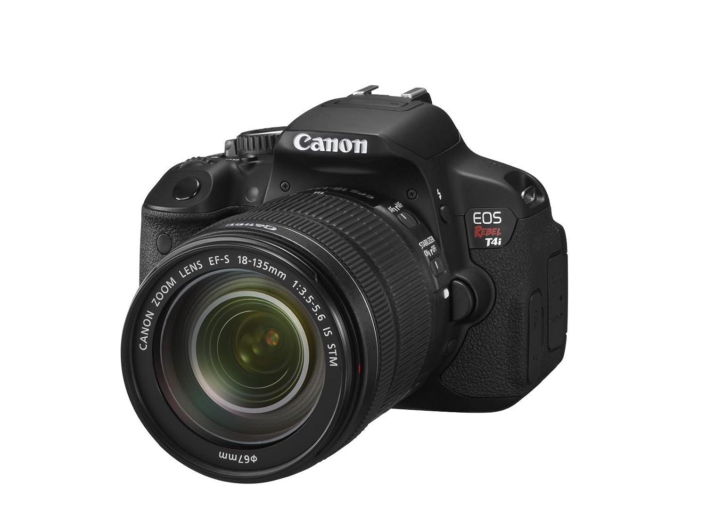 amazon com canon eos rebel t4i 18 0 mp digital slr with 18 135mm rh amazon com canon rebel t4i manual pdf canon eos rebel t4i user guide