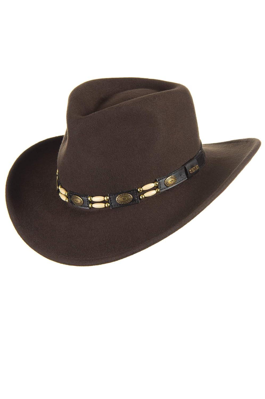 9068c23336b Overland Outback Crushable Felt Cowboy Hat Overland Sheepskin Co. 67485