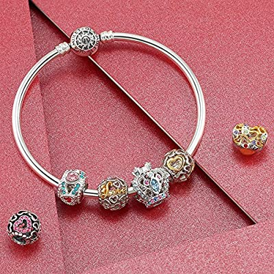 Glamulet Jewelry - Love Kiss Mom Charm -- 925 Sterling Silver -- Fits Pandora Bracelet