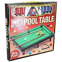 NEW MY MINI TABLETOP POOL SNOOKER TABLE GAME SET TOY CHILDRENS XMAS GIFT TY824
