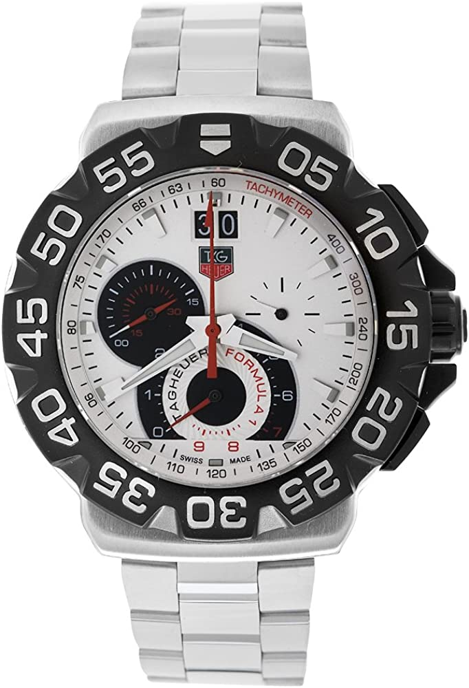 TAG Heuer Men s CAH1011.BA0854 Formula 1 Grande Date Chronograph Watch