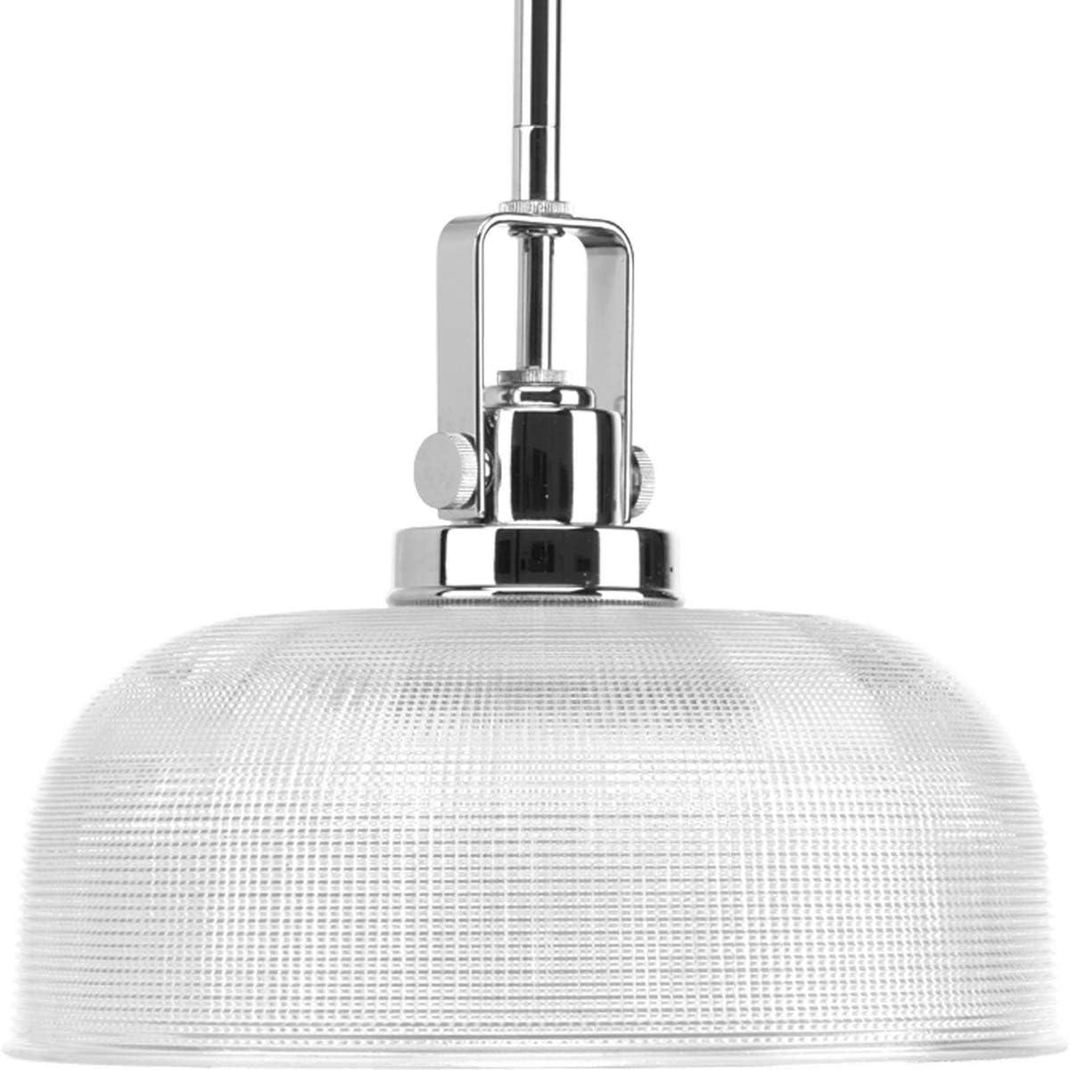 Progress Lighting P5026-15 Med Mini-Pendant, 1-100-watt