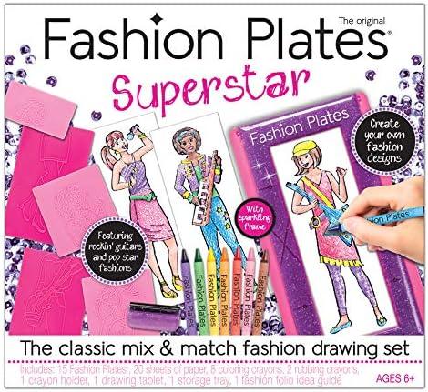 Kahootz Fashion Plates Superstar Deluxe Set