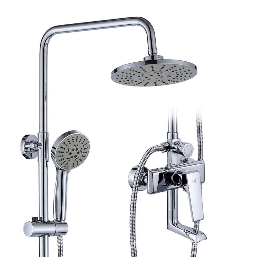 新しいスタイル シャワーシステムシャワー蛇口 - - 現代の現代的なクロームシャワーシステム浴室シャワーセット銅銅バスルームシャワー蛇口 B07K8MBYJX B07K8MBYJX, なると小町:e7db5905 --- arianechie.dominiotemporario.com