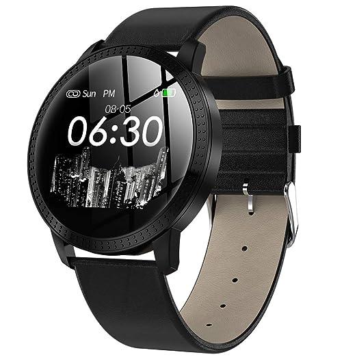 Smart Watch CF18 2019, Fitness Tracker étanche, Surveillance du Rythme Cardiaque & de la