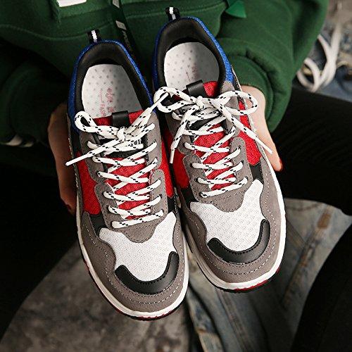 NGRDX&G NGRDX&G NGRDX&G Damen Turnschuhe Frauen Turnschuhe Plattform Frau Freizeitschuhe Mädchen Student Leinwand Schuhe Weibliche Turnschuhe 40 Plus B07CZBB4SQ Sport- & Outdoorschuhe Mode 0b5d4f