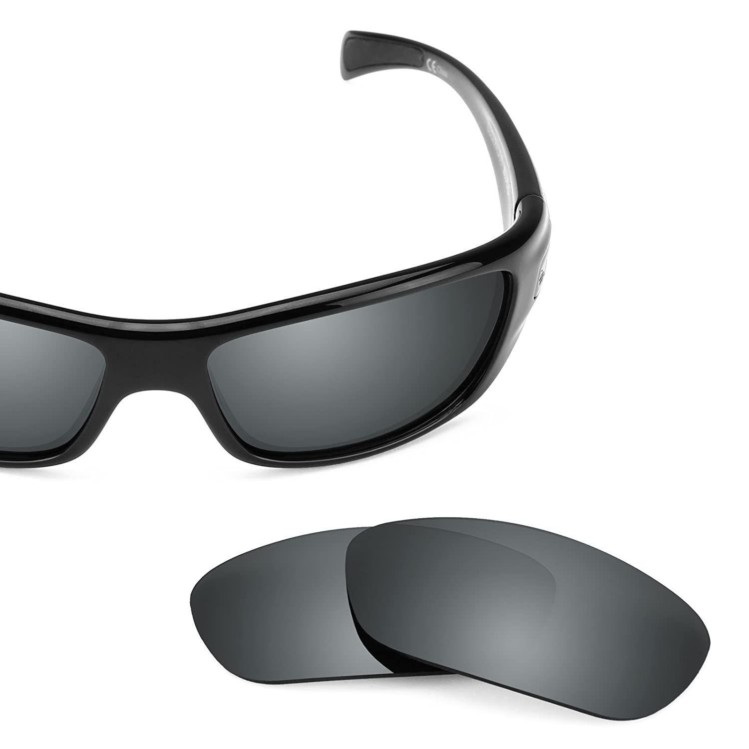 c5025a116d Amazon.com  Revant Polarized Replacement Lenses for Bolle Copperhead Black  Chrome MirrorShield  Sports   Outdoors