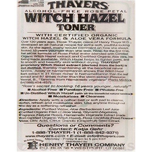 Review Thayers Alcohol-free Rose Petal