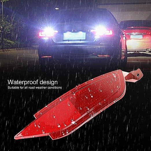 Heckstoßstange Reflektoren Auto Heckstoßstange Rückfahrscheinwerfer Heckstoßstange Rechts Nebelscheinwerfer Reflektor Heckumkehr Auto