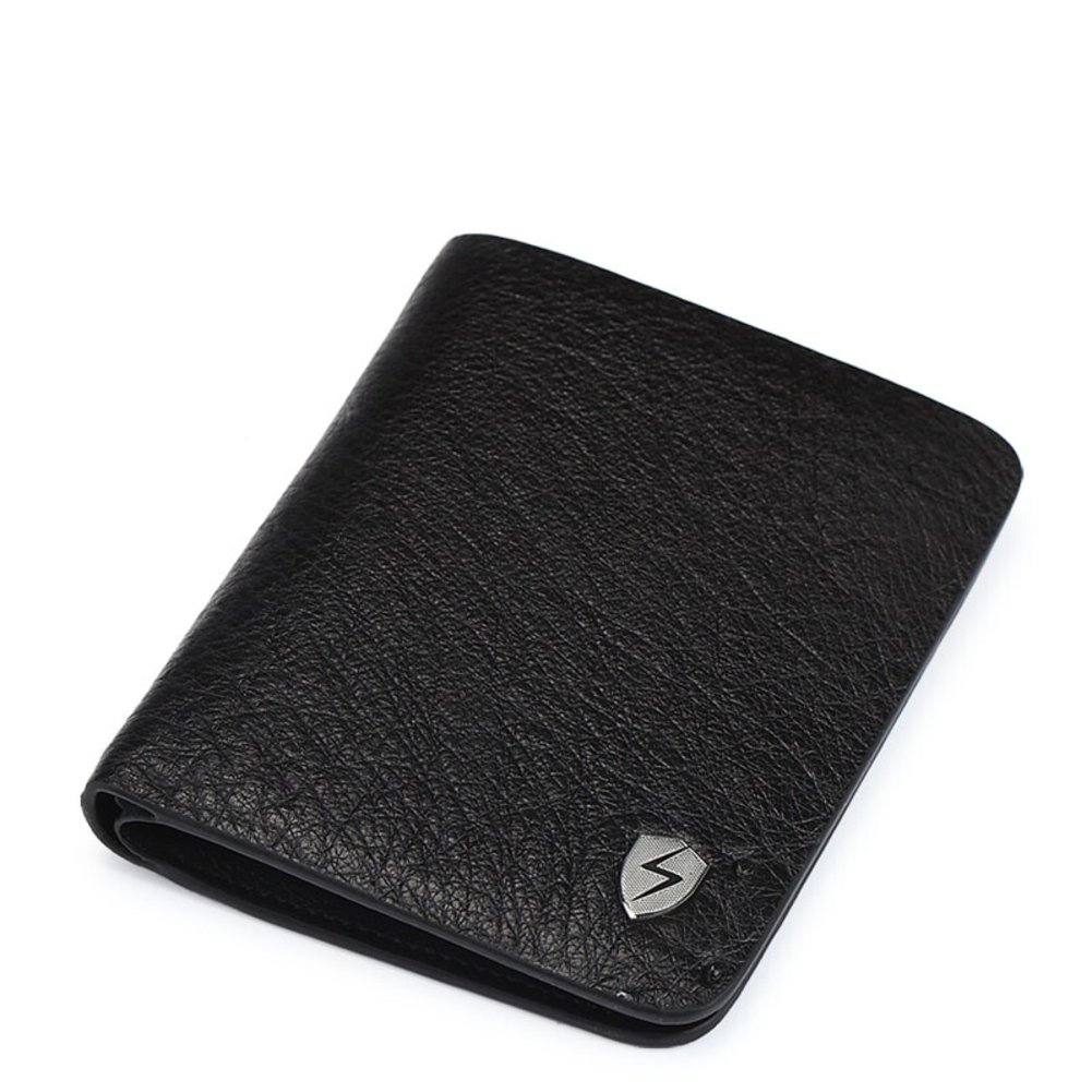 Rfid Blocking Genuine Leather Wallet Men Excellent Travel Credit Card Case Wallets Protector Money-A 10x12cm(4x5inch)