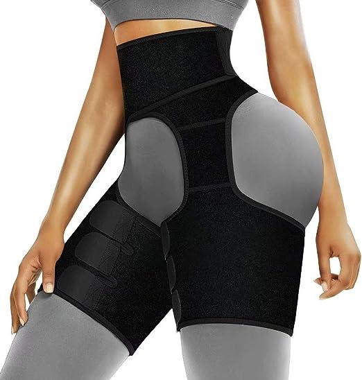 Wabaodan Women Hips Enhancer Invisible Lift Butt Lifter Shaper High Waist Trainer Thigh Trimmers Exercise Shapewear Belt