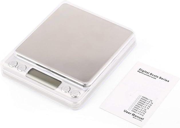 Tellaboull for Mini Digital Pocket Bilancia 200g 0.01g Precisione g//ozt//DWT//ct//oz//GN per la misurazione del Peso di pesatura Farmacia