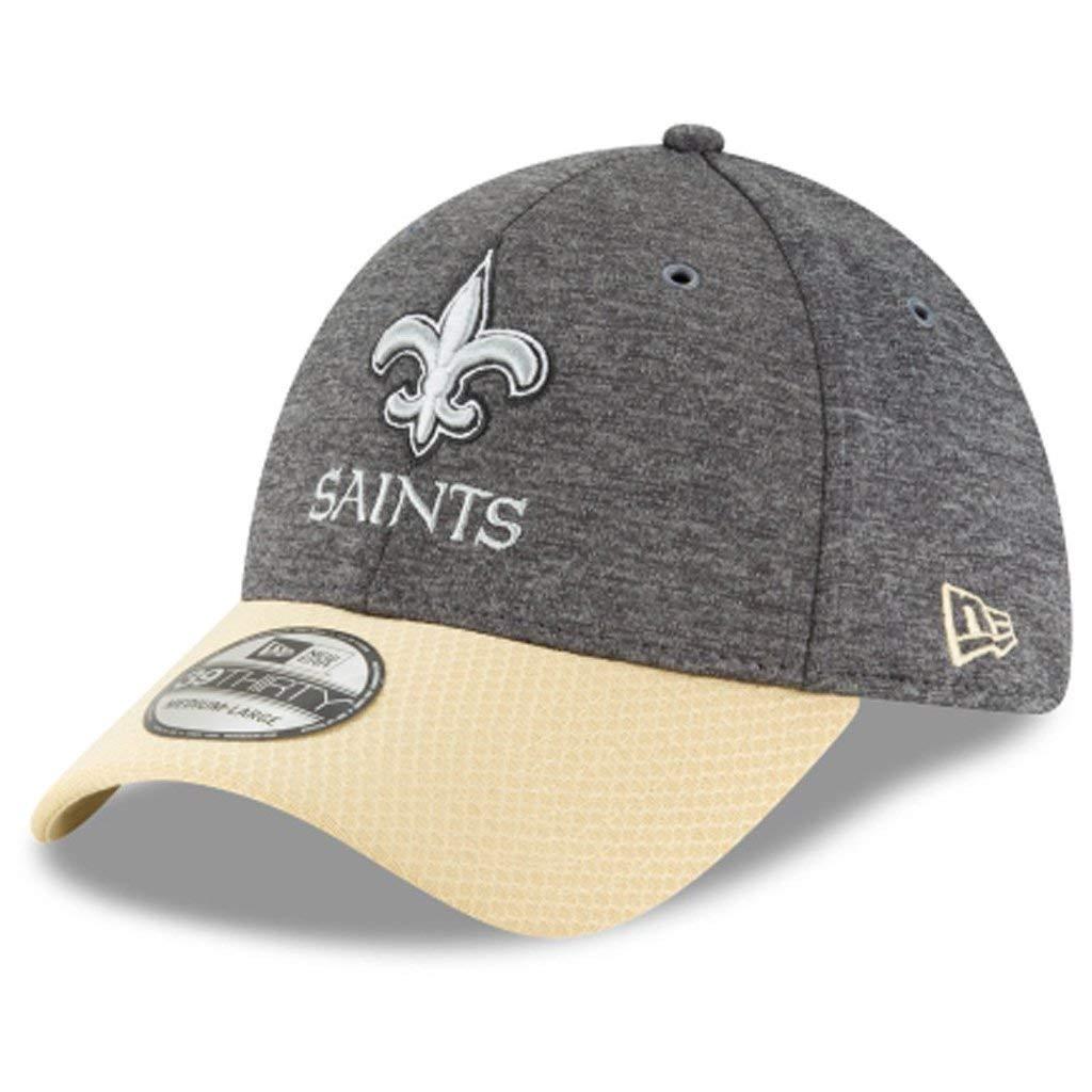 Sideline Graphite New Orleans Saints New Era 39Thirty Cap