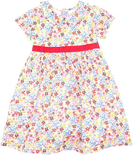 JoJo Maman Bebe Ditsy Floral Party Dress (Baby) - Bright-12-18 Months -