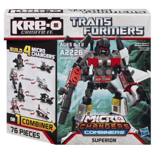 KRE-O Transformers Micro-Changers Combiners Superion Set - Transformers Kreo Combiners