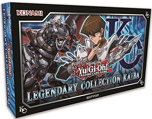 YUGIOH Legendary Collection KAIBA BOX (3 MEGA BOOSTER PACKS 5 PROMO + GAME BOARD) by Unknown