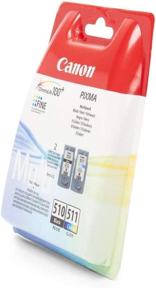 Canon Original Pg 510 Cl 511 Combo Ink Pack Bürobedarf Schreibwaren