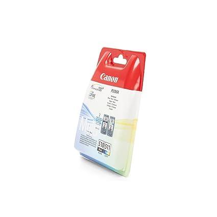 Canon - Cartuchos de tinta para impresora Canon Pixma MP230, color negro y color
