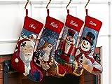 Needlepoint Christmas Stocking: Frosty