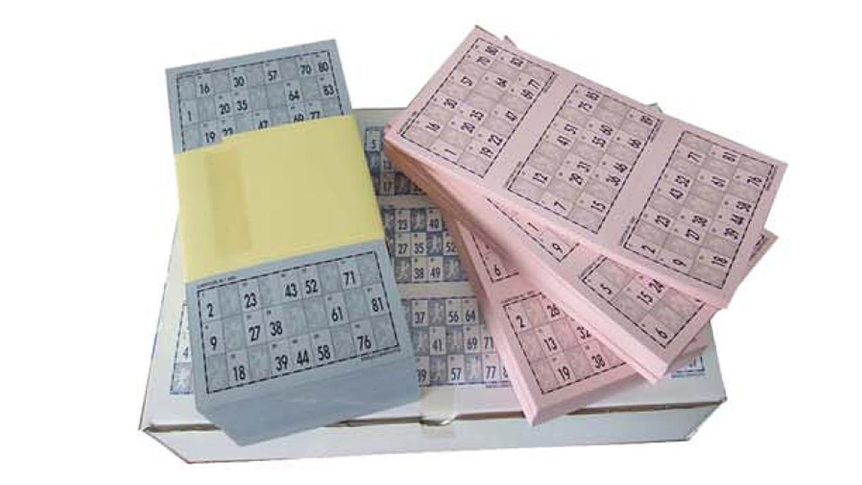 Cartones De Bingo Troquelados Amazon Es Juguetes Y Juegos