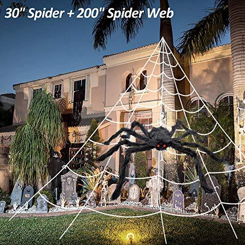 2pcs Halloween Spider Web(200