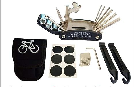 kwerb Kit de reparación de Bicicleta Mini Set para Bicicletas de ...