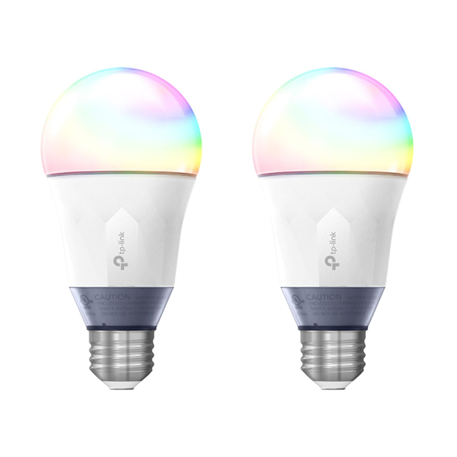 2 Pack TP-Link Smart WiFi LED Bulb with Color Changing Hue
