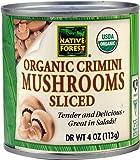 Native Forest Organic Crimini Mushrooms Sliced -- 4 oz