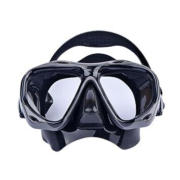 0℃ Outdoor Máscara De Buceo, Máscara De Buceo Panorámico para Snorkeling Máscara De Buceo