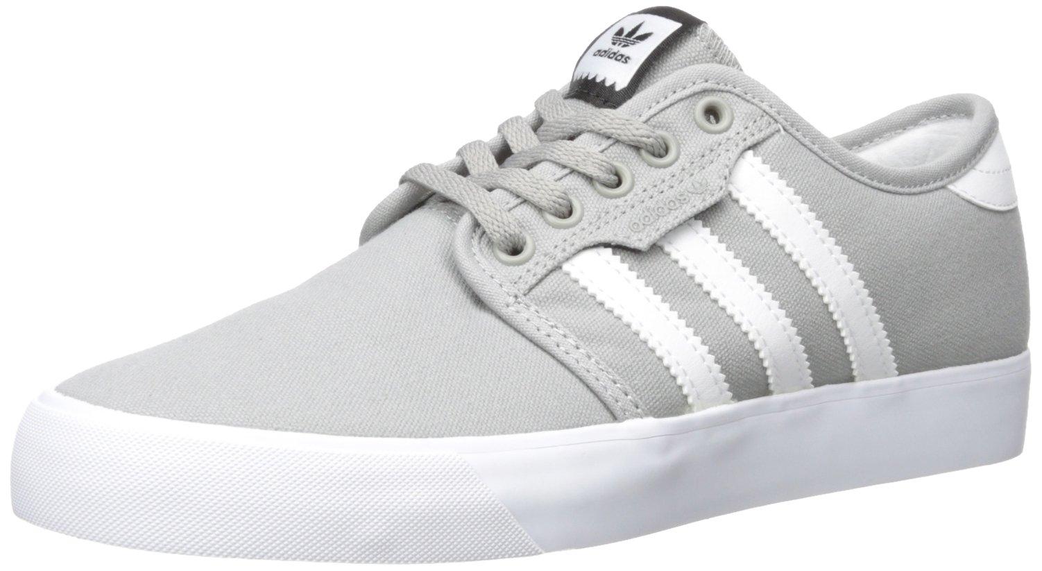 adidas Originals Unisex Seeley Running Shoe, MGH Solid Grey White, 6.5 M US Big Kid