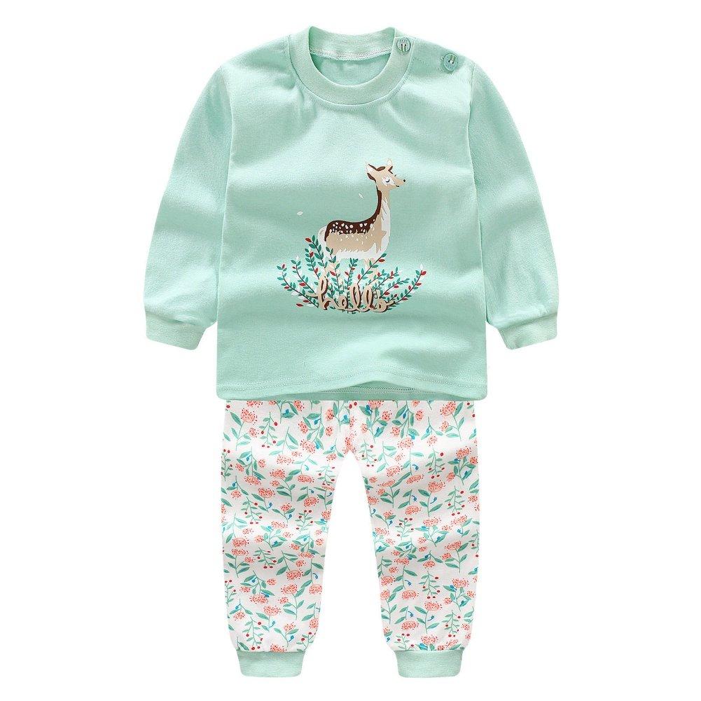 Miyanuby - Pijamas Enteros - Redondo - Manga Larga - para bebé Niña: Amazon.es: Ropa y accesorios