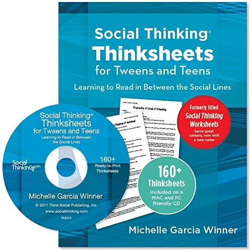 Social Thinking Worksheets for Tweens and Teens Learning to Read ...