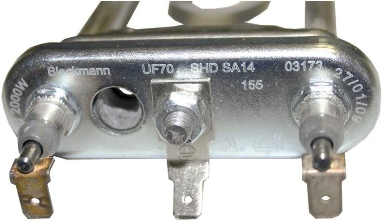 Heizung Heizspirale Heizelement 2000W Original Bosch Siemens 00643463 643463 Waschmaschine Waschger/ät Waschautomat Neckermann Lloyds Quelle 643463 xs440 wxs1040 wxs124601 wxs104501 wxs124501 wxs104601