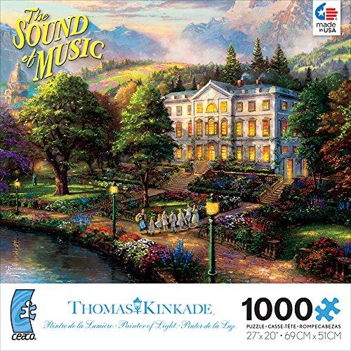 1000 Piece Thomas Kinkade WB Movie Classics The Sound of Music Jigsaw Puzzle