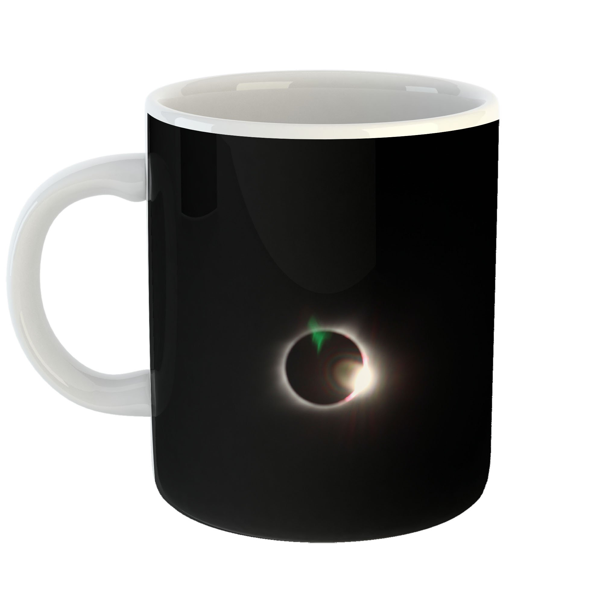 Westlake Art - Solar Moon - 11oz Coffee Cup Mug - Modern Picture Photography Artwork Home Office Birthday Gift - 11 Ounce (1BB1-2910A)