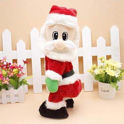 Babbo Natale In Spagnolo.Beesclover Christmas Elettrico Spagnolo Musica Babbo Natale