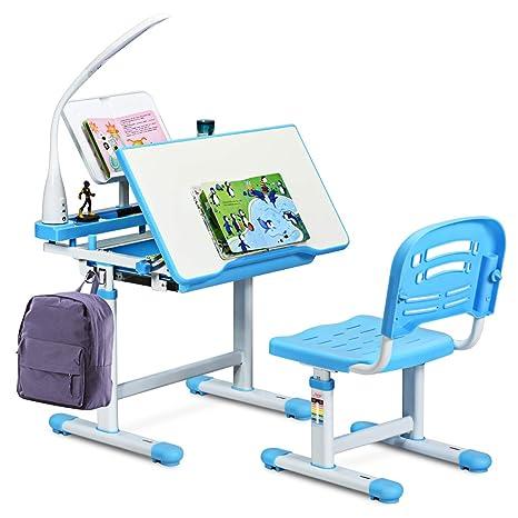 Amazon.com: Baby Joy - Juego de escritorio y silla para ...